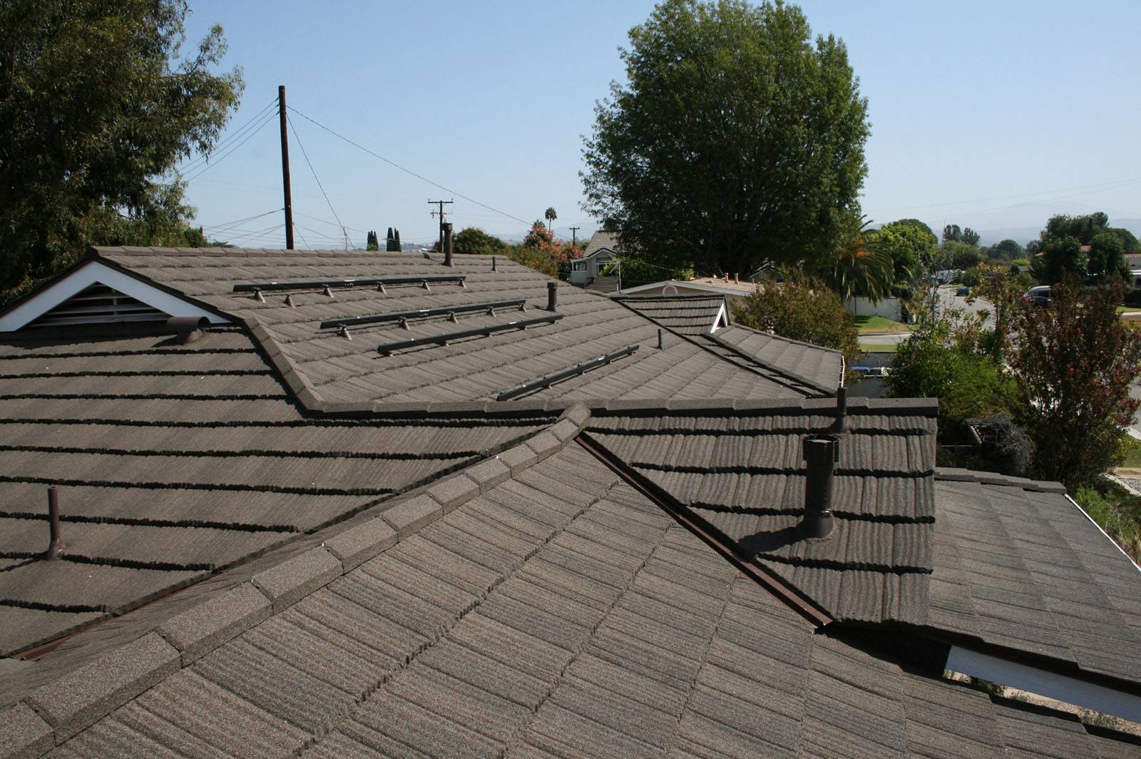 California Roofing Gallery Metal Roof And Solar System