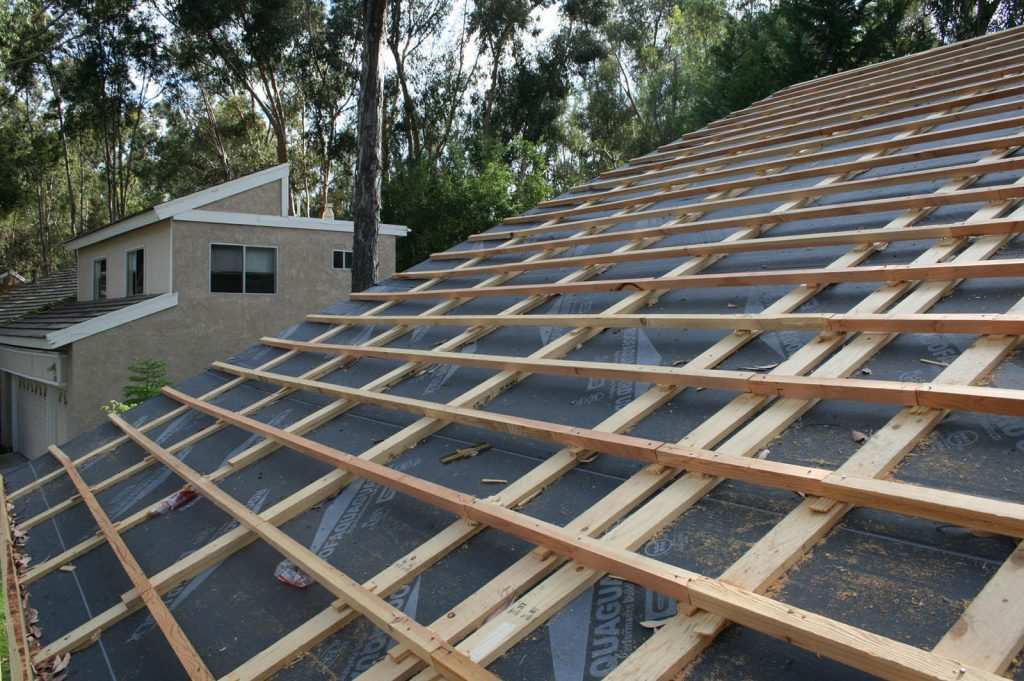 California Boral concrete tile roof replacement to steel shake roof