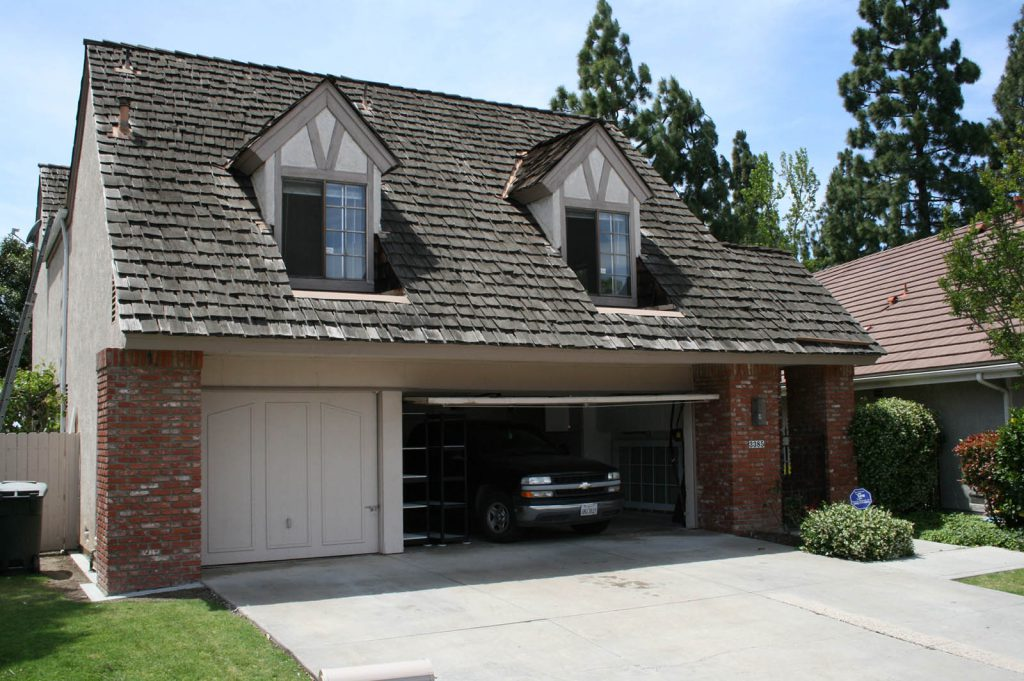 California wood shake roof replaced to metro cottage shingle roof now Boral Roofs