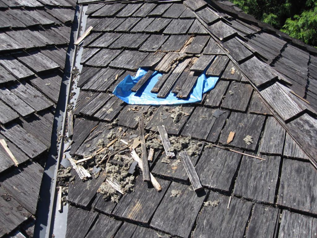 Los Angeles roof patch wood shingle roof replacement Orange County
