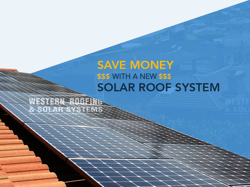 California solar roof system can save you money on electric bill