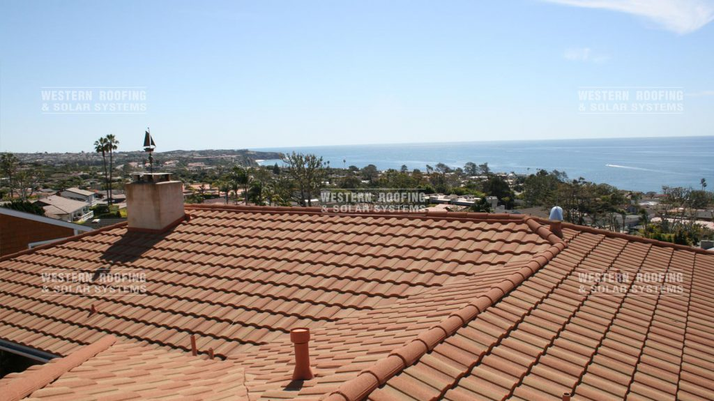 California roman tile roof installation no Boral Roof