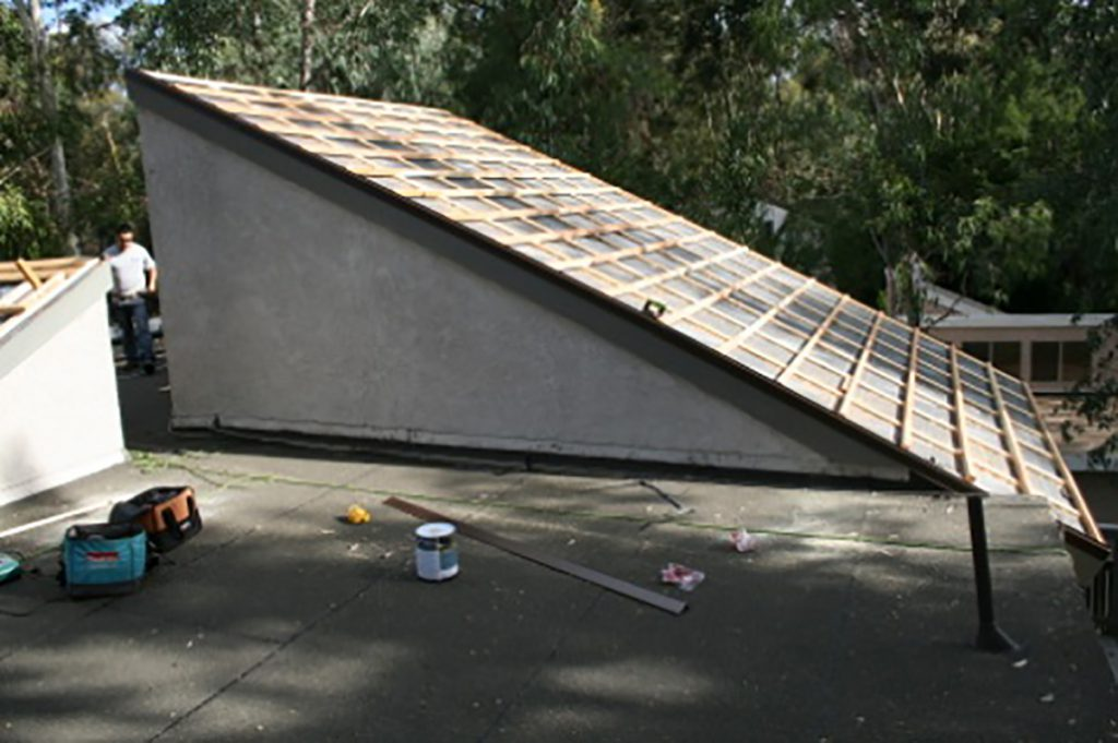 Calfiornia roof installation and flat roof