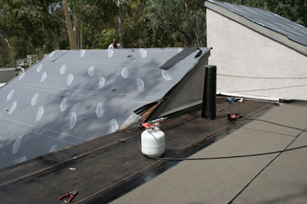 Northern California Flat Roof Installation